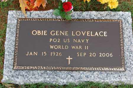 LOVELACE (VETERAN WWII), OBIE GENE - Greene County, Arkansas | OBIE GENE LOVELACE (VETERAN WWII) - Arkansas Gravestone Photos