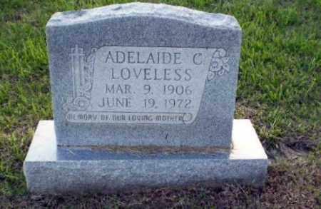 LOVELESS, ADELAIDE - Greene County, Arkansas   ADELAIDE LOVELESS - Arkansas Gravestone Photos