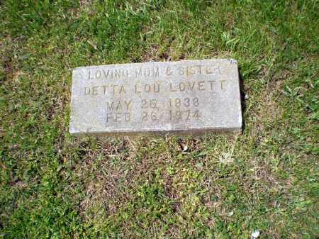 LOVETT, DETTA LOU - Greene County, Arkansas | DETTA LOU LOVETT - Arkansas Gravestone Photos