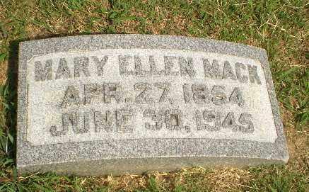 MACK, MARY ELLEN - Greene County, Arkansas | MARY ELLEN MACK - Arkansas Gravestone Photos