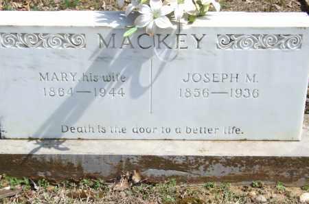 MACKEY, JOSEPH M. - Greene County, Arkansas | JOSEPH M. MACKEY - Arkansas Gravestone Photos