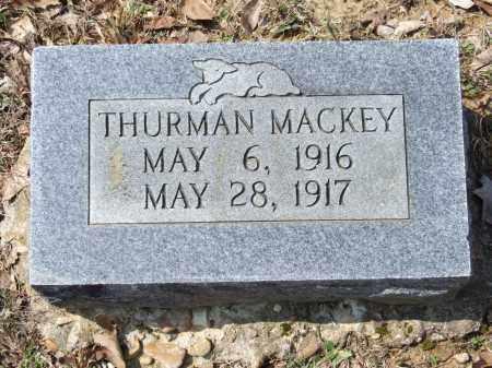 MACKEY, THURMAN - Greene County, Arkansas   THURMAN MACKEY - Arkansas Gravestone Photos