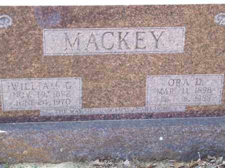 MACKEY, ORA D. - Greene County, Arkansas | ORA D. MACKEY - Arkansas Gravestone Photos