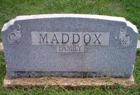 MADDOX, FAMILY - Greene County, Arkansas | FAMILY MADDOX - Arkansas Gravestone Photos