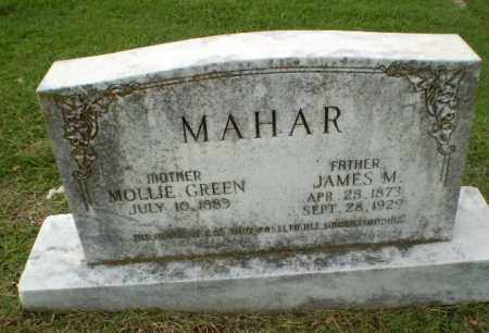 GREEN MAHAR, MOLLIE - Greene County, Arkansas | MOLLIE GREEN MAHAR - Arkansas Gravestone Photos