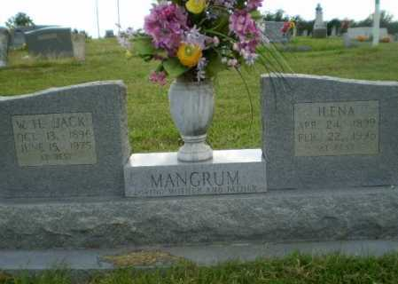 "MANGRUM, W,H. ""JACK"" - Greene County, Arkansas | W,H. ""JACK"" MANGRUM - Arkansas Gravestone Photos"
