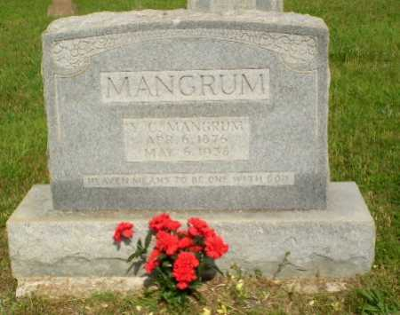 MANGRUM, Y,C, - Greene County, Arkansas | Y,C, MANGRUM - Arkansas Gravestone Photos