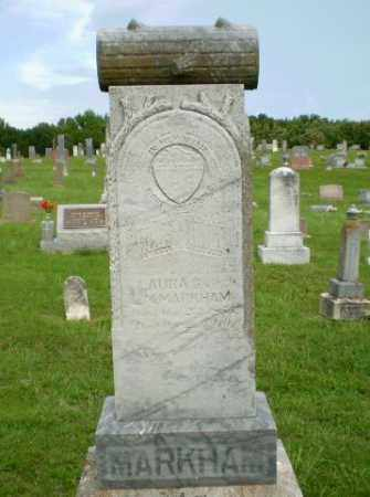 MARKHAM, LAURA G - Greene County, Arkansas | LAURA G MARKHAM - Arkansas Gravestone Photos