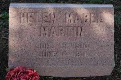 MARTIN, HELEN MABEL - Greene County, Arkansas | HELEN MABEL MARTIN - Arkansas Gravestone Photos