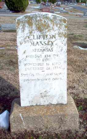 MASSEY  (VETERAN), CLIFTON - Greene County, Arkansas | CLIFTON MASSEY  (VETERAN) - Arkansas Gravestone Photos