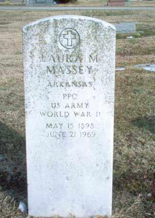 MASSEY  (VETERAN WWII), LAURA M. - Greene County, Arkansas | LAURA M. MASSEY  (VETERAN WWII) - Arkansas Gravestone Photos
