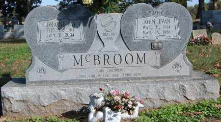 BUTLER MCBROOM, LORAINE FAYE - Greene County, Arkansas | LORAINE FAYE BUTLER MCBROOM - Arkansas Gravestone Photos