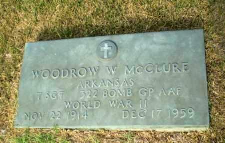 MCCLURE (VETERAN WWII), WOODROW W - Greene County, Arkansas | WOODROW W MCCLURE (VETERAN WWII) - Arkansas Gravestone Photos