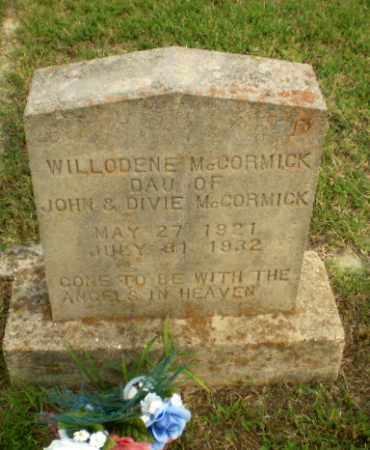 MCCORMICK, WILLODENE - Greene County, Arkansas   WILLODENE MCCORMICK - Arkansas Gravestone Photos