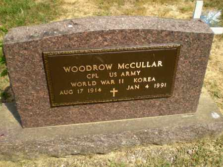 MCCULLAR  (VETERAN 2 WARS), WOODROW - Greene County, Arkansas | WOODROW MCCULLAR  (VETERAN 2 WARS) - Arkansas Gravestone Photos