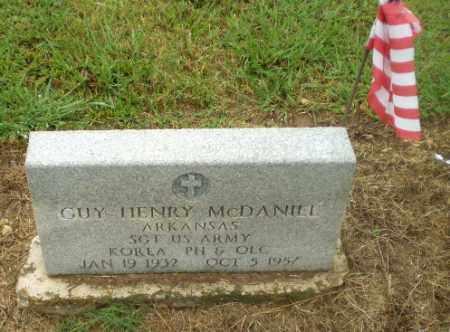 MCDANIEL (VETERAN KOR), GUY HENRY - Greene County, Arkansas | GUY HENRY MCDANIEL (VETERAN KOR) - Arkansas Gravestone Photos
