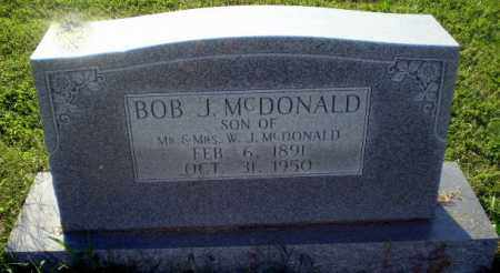 MCDONALD, BOB J - Greene County, Arkansas   BOB J MCDONALD - Arkansas Gravestone Photos