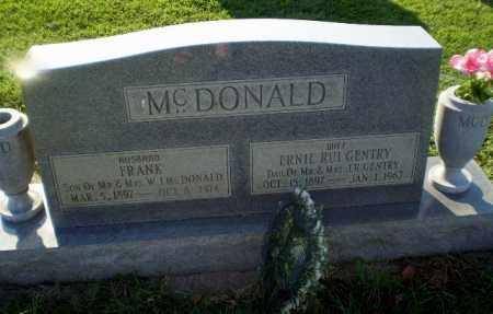 MCDONALD, FRANK - Greene County, Arkansas   FRANK MCDONALD - Arkansas Gravestone Photos