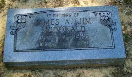 "MCDONALD, JAMES A ""JIM"" - Greene County, Arkansas   JAMES A ""JIM"" MCDONALD - Arkansas Gravestone Photos"