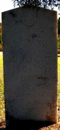 MCDONALD (VETERAN CSA), JAMES R - Greene County, Arkansas   JAMES R MCDONALD (VETERAN CSA) - Arkansas Gravestone Photos