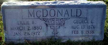 MCDONALD, LILLIE R - Greene County, Arkansas | LILLIE R MCDONALD - Arkansas Gravestone Photos