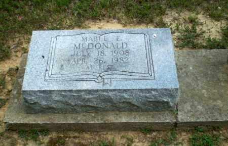 MCDONALD, MABLE E - Greene County, Arkansas | MABLE E MCDONALD - Arkansas Gravestone Photos