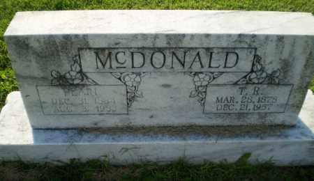 MCDONALD, T.R. - Greene County, Arkansas | T.R. MCDONALD - Arkansas Gravestone Photos