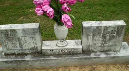 MCDONALD, WOODROW - Greene County, Arkansas   WOODROW MCDONALD - Arkansas Gravestone Photos