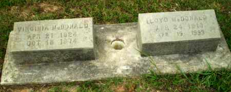 MCDONALD, LLOYD - Greene County, Arkansas   LLOYD MCDONALD - Arkansas Gravestone Photos