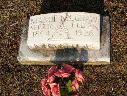 MCGRAW, MAMIE - Greene County, Arkansas   MAMIE MCGRAW - Arkansas Gravestone Photos