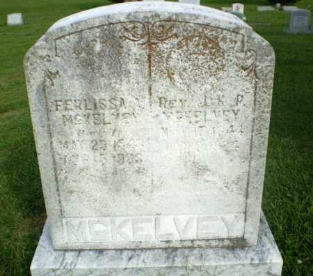 MCKELVEY, REV, J.K.P. - Greene County, Arkansas | J.K.P. MCKELVEY, REV - Arkansas Gravestone Photos