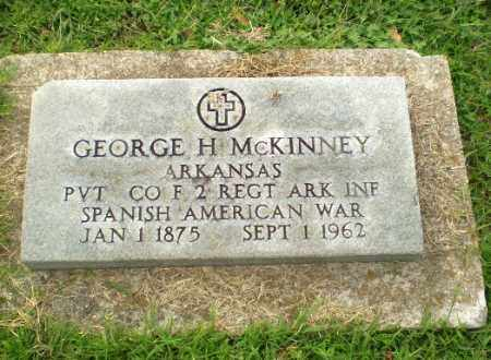 MCKINNEY  (VETERAN SAW), GEORGE H - Greene County, Arkansas | GEORGE H MCKINNEY  (VETERAN SAW) - Arkansas Gravestone Photos