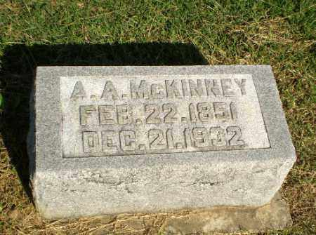 MCKINNEY, A.A. - Greene County, Arkansas | A.A. MCKINNEY - Arkansas Gravestone Photos