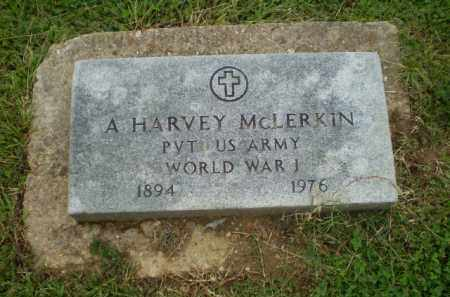 MCLERKIN  (VETERAN WWI), A. HARVEY - Greene County, Arkansas | A. HARVEY MCLERKIN  (VETERAN WWI) - Arkansas Gravestone Photos