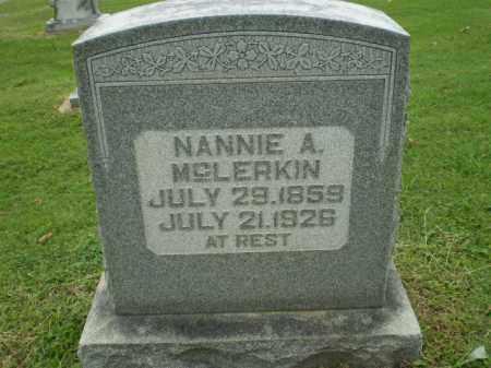 MCLERKIN, NANNIE A - Greene County, Arkansas   NANNIE A MCLERKIN - Arkansas Gravestone Photos