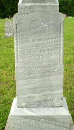 MCMILLON, LUCINDA - Greene County, Arkansas | LUCINDA MCMILLON - Arkansas Gravestone Photos