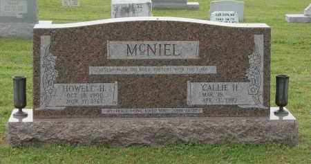MCNIEL, CALLIE - Greene County, Arkansas | CALLIE MCNIEL - Arkansas Gravestone Photos