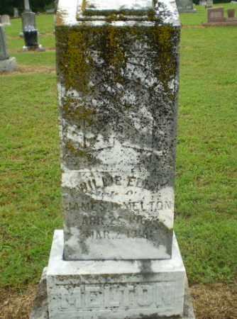 MELTON, WILLIE ELLA - Greene County, Arkansas   WILLIE ELLA MELTON - Arkansas Gravestone Photos