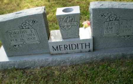 MEREDITH, DOROTHY L - Greene County, Arkansas | DOROTHY L MEREDITH - Arkansas Gravestone Photos