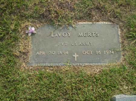 MERTS (VETERAN), LAVOY - Greene County, Arkansas   LAVOY MERTS (VETERAN) - Arkansas Gravestone Photos