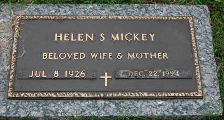 MICKEY, HELEN S. - Greene County, Arkansas | HELEN S. MICKEY - Arkansas Gravestone Photos