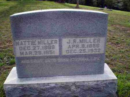 MILLER, J R - Greene County, Arkansas | J R MILLER - Arkansas Gravestone Photos