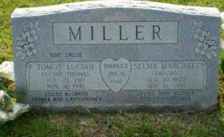 VAUGHN MILLER, SELMA MARGARET - Greene County, Arkansas | SELMA MARGARET VAUGHN MILLER - Arkansas Gravestone Photos