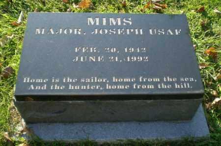 MIMS  (VETERAN), JOSEPH - Greene County, Arkansas | JOSEPH MIMS  (VETERAN) - Arkansas Gravestone Photos