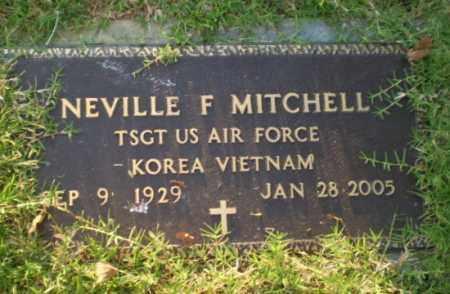 MITCHELL  (VETERAN 2 WARS), NEVILLE F - Greene County, Arkansas   NEVILLE F MITCHELL  (VETERAN 2 WARS) - Arkansas Gravestone Photos