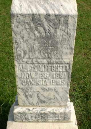 MITCHELL, ALICE - Greene County, Arkansas   ALICE MITCHELL - Arkansas Gravestone Photos