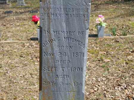 MITCHELL, JOHN G. - Greene County, Arkansas | JOHN G. MITCHELL - Arkansas Gravestone Photos