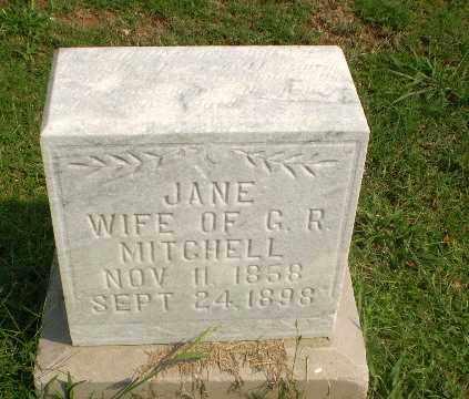 MITCHELL, JANE - Greene County, Arkansas | JANE MITCHELL - Arkansas Gravestone Photos