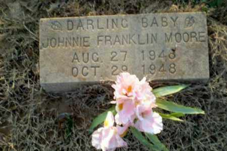 MOORE, JOHNNIE FRANKLIN - Greene County, Arkansas | JOHNNIE FRANKLIN MOORE - Arkansas Gravestone Photos
