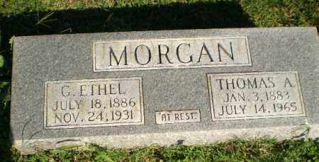 MORGAN, THOMAS A - Greene County, Arkansas | THOMAS A MORGAN - Arkansas Gravestone Photos